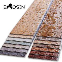 À prova de material de construção Auto Stick Lvt/SPC/PVC/borracha/cerâmica/plástico porcelana/madeira/madeira/pedra mármore/Vinil Luxo/Piso de vinil/Wall Plank Preço de lado a lado