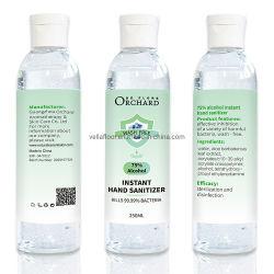 75% álcool gel Higienizador mão instantânea sem lavagem com sabão líquido