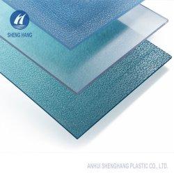 Het binnen en Openlucht Plastic In reliëf gemaakte Blad van het Polycarbonaat PC