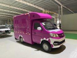 Auto con distributore automatico, veicolo con apertura alare, macchina da pranzo multifunzionale, auto mobile al dettaglio, macchina da pranzo mobile