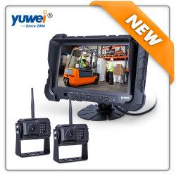 De nouvelles et HD 720p double rétroviseur numérique sans fil de bus/voitures/camions avec système de caméra populaires moniteur TFT 7 pouces