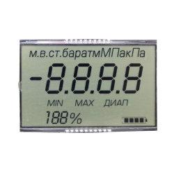 공장 Supply Custom 7segment Monochrome Tn LCD 디스플레이