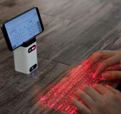متأخّر لاسلكيّة ليزر عرض [بلوتووث] لوحة مفاتيح فعليّة تحت أحمر لأنّ هاتف ([إكسه-لبك-م1])