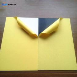 Blanco y Negro 2 lados pegados fotos material de PVC autoadhesivo hoja hoja de plástico de PVC rígido para el Álbum de fotos haciendo