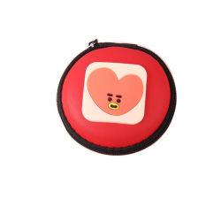 Karikatur-Silikon-Minimappe Belüftung-Münzen-Beutel-kreativer Kopfhörer-Schlüssel-Beutel