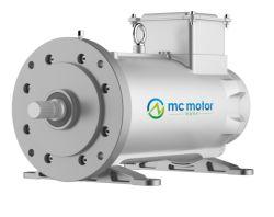 Motore industriale elettrico a magnete permanente senza spazzola sincrono trifase 6000rpm di Pmsm Pm di coppia di torsione di alta velocità/potere di CA a 24000rpm