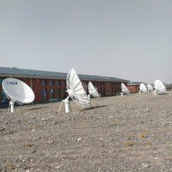 4.5m 지상 스테이션 C, Ku, Ka 대역 위성 포물화 통신 안테나