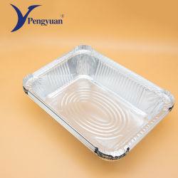 De Container van de Verpakking van het Voedsel van het Baksel van de Aluminiumfolie van de rechthoek