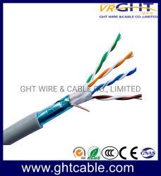 Сетевой кабель Cat5 для установки внутри помещений/ Cat5e FTP 24AWG медный проводник кабель локальной сети