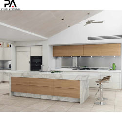 Armadietti italiani del Pantry dell'armadio da cucina della mobilia moderna modulare di legno di miglioramento domestico