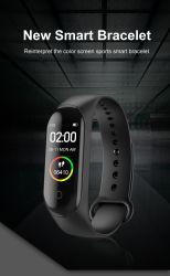 Brazalete deportivo impermeable de 50 metros de la pareja de la muñeca de moda relojes Bluetooth® Reloj inteligente