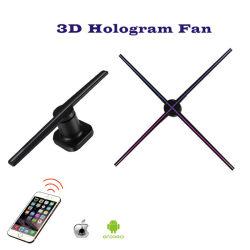 表示WiFiのホログラフィックファンを広告する熱い販売3DホログラムLED