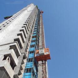 建築構造のための構築の起重機のエレベーターを運転するギヤ車輪およびラックとのScシリーズ