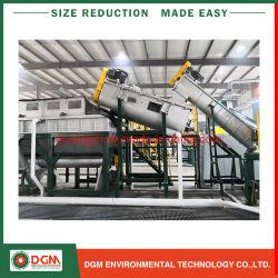 Lavage de broyage de broyage de recyclage du plastique pour mettre au rebut des déchets De Ligne De Sacs PP Jumbo Bottls LDPE Film PET