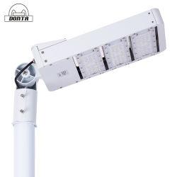 CE RoHS ضوء LED للشارع عالي القدرة ومقاوم للماء في الهواء الطلق 150 واط تجهيزات مصباح الطريق القابلة للضبط