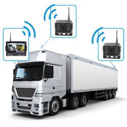 drahtlose LKW-Fahrzeug-Parken-Rückseiterearview-Kamera des Bus-2.4GHz mit '' System des Monitor-7