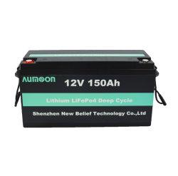 Écran LCD au lithium LiFePO4 12V de la batterie à cycle profond 100AH 150AH 200AH 300Ah batterie Lihtium POUR RV/Yacht/marine/solaire/chariot de golf/UPS