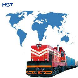 Conteneur de transport ferroviaire de la Chine à la Slovénie porte à porte pour expédition de fret