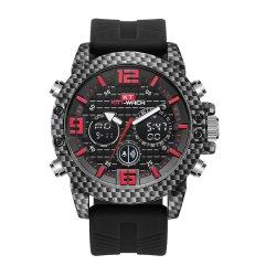Armbanduhr für Sport-Uhr mit Geschenk-Uhr in der Digitaluhr in Silikon-Uhr auf Form-Uhr-Quarz-Uhr-China-Uhr-Mann-Uhr und kundenspezifischer Uhr