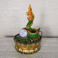 Nuevo Diseño Interior de Thai Dragon Fuente de agua para la decoración del hogar