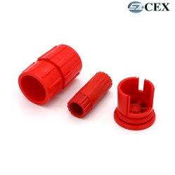 قطع حقن القوالب البلاستيكية المصنعة للمعدات الأصلية طراز Precision ABS/PP/Nylon/PC+ABS/PE/PA6 لمدة تلقائي/غطاء/مكونات الصناعة