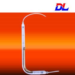 De Onda Corta en forma de L Cuarzo halógena lámpara de infrarrojos con la ISO y CE