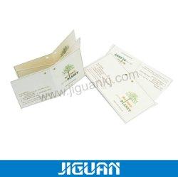 Kundenspezifische hängende Marken des Größen-Kunstdruckpapier-Cmyk/1c/2c für Beutel und Tuch