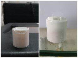 24/410 20mm 디스크 캡 애완 동물 병 플라스틱 손 살균기 뒤집기 스킨케어 토너 에뮬레이션 포장 상단 캡