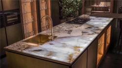 Pulido Natural Blanco/Negro/Amarillo/Verde/marrón/azul/gris/rojo/rosa Patagonia/mármol travertino de piedra de granito y/o cuarcitas de granito para interiores y decoración de pared