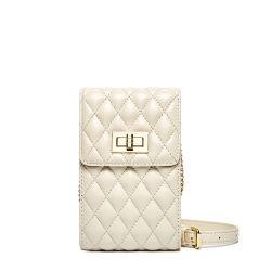 Эмг6164 цепь из натуральной кожи плеча сотовый телефон Wallet кошелек женщин креста органа держатель телефона сумки