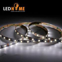 Inicio LED IP20 CC12V 6W 60LEDs por metro 6000K Naturaleza SMD2835 Blanco tira de LED flexible de 10mm de ancho de la FPC perfil de aluminio y tubo de neón