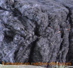 Resíduos de lã de roupas usadas têxteis de algodão regenerada de recursos renováveis sentida a acupuntura o algodão
