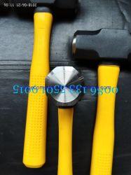 Оборудование и инструмент Рука 6 фунтов Термообработанные поразительный поверхности салазочного молотком с вала из стекловолокна и резиновая ручка