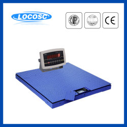 1ton 3ton 5ton 10ton Cer-anerkannte Digital-wiegende Plattform-Fußboden-Schuppe mit Rahmen