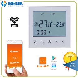 Digitale het Verwarmen van de Zaal van WiFi van de Temperatuur ElektroThermostaat met LCD het Scherm
