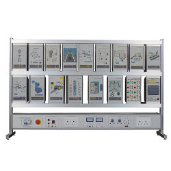 Minrry PLC Training Panel Teaching Equipment Electrical Automatic Trainer