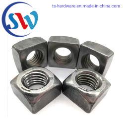 De professionele Aangepaste Vierkante Noot van het Koolstofstaal van de Fabrikant ASTM/Van het Roestvrij staal in Voorraad