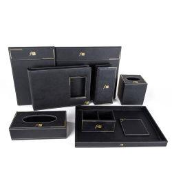 Design personalizado tecido de couro Box Hotel Supplies