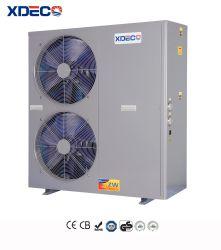 商業空気ソースヒートポンプの給湯装置10-150kw
