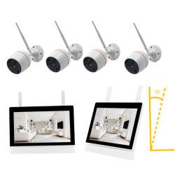 """Écran LCD 7"""" Moniteur à écran tactile NVR 2.4G Kit de caméra de sécurité WiFi"""