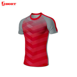 Aibort bestes Entwurfs-Sportkleidung-Sublimation-Team-Rugby Jersey (N-RJ16)