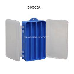Supporto di plastica registrabile trasparente dei monili delle componenti della casella di memoria piccolo