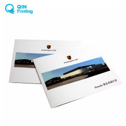 Voiture de luxe de la publicité Brochure d'impression en couleur