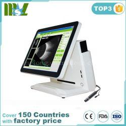 Les ultrasons ophtalmiques un portable avec écran tactile de numérisation biométrique Mslmd23