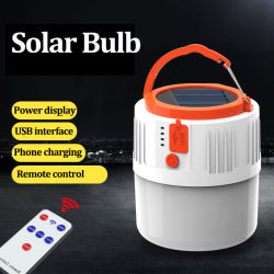 Lebekan Solar-LED Birne der heißen Lampe LED des Verkaufs-Lithium-Battery100W energiesparenden intelligenten Emergency nachladbaren backup intelligenten USB-Aufladeeinheits-