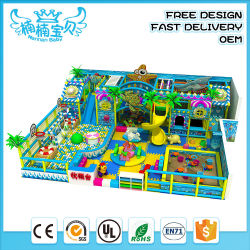 高品質の小型の幼稚園のプラスチックスライドセット