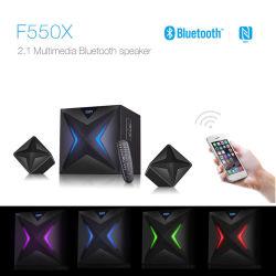 Hotsale F550X 2.1 HiFi Multimedia Home Audio Wireless Bluetooth Громкоговоритель контроля приложений динамиков телевизора