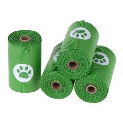애완 동물 부속품 애완 동물 고물을 보전되기 위하여 이용되는 분해 가능한 플라스틱 쓰레기 봉지