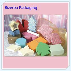 Five-Pointed Star/Maple Leaf Shape Caixa de oferta de papel/Caixa de Forma Irregular (BP-BC-0108)