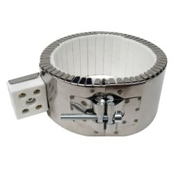 Keramische verwarmingsband met metaaldraad
